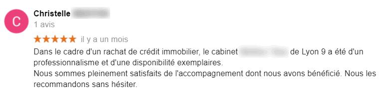 ADIEUcourtier.com - unique avis 5 étoiles 1