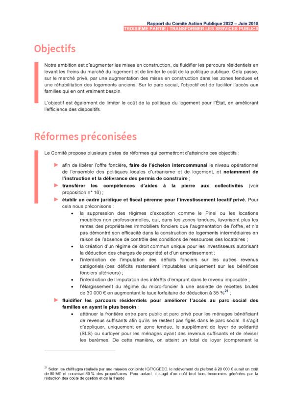 ADIEUcourtier.com - Rapport COMITE ACTION PUBLIQUE 2022 (CAP22) Juin 2018 - Proposition 11_2