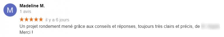 ADIEUcourtier.com - unique avis 5 étoiles 3