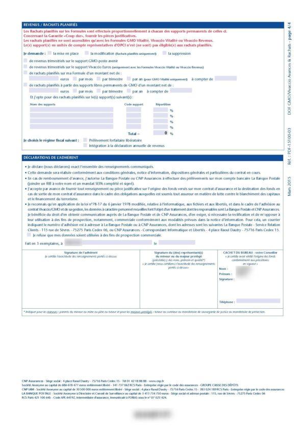 ADIEUcourtier.com 2019 Clôture VIVACCIO CNP Assurances via La Banque Postale 03_4